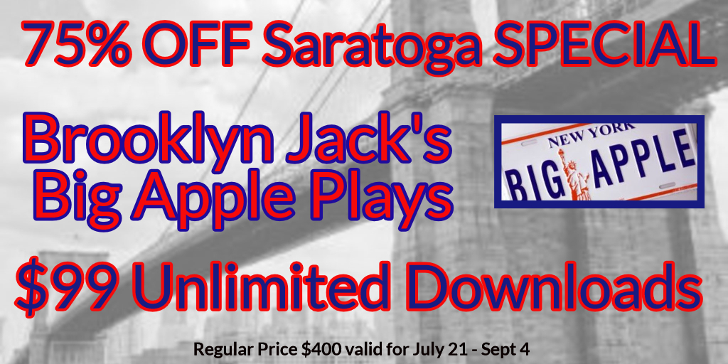 Brooklyn Jack Subscription Saratoga Horse Racing selections